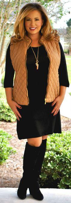 Perfectly Priscilla Boutique - Turn Back Time Vest - Tan, $36.00 (http://www.perfectlypriscilla.com/turn-back-time-vest-tan/)