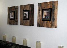 DIY Pallet Picture Frame   Pallet Furniture DIY