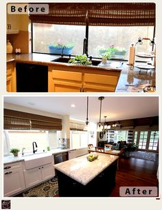 Transitional kitchen remodel with Custom cabinets in city of Orange http://www.aplushomeimprovements.com/portfolio_page/orange-county-orange-kitchen_remodel-custom-cabinets92/