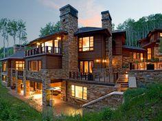 ski lodge home | Ski Home Sothebys Real Estate Limitless Winter A Billionaire's ...