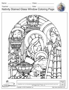 large stained glass coloring pages nativity stained glass patterns free patterns - Free Coloring Worksheets