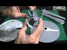 Revell 1/500 Scale STAR TREK Into Darkness U.S.S. Enterprise Buildup PT 1 - YouTube