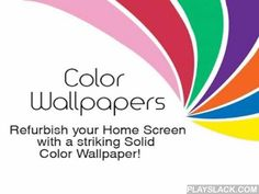 Solid Color Wallpapers HD  Android App - playslack.com ,  Color Wallpapers is a Smartphone application that basically acts as a background color changer helping users in setting their most favorite colors as phone wallpapers. Every main solid color further consists of numerous sub categories leaving individuals spoilt for choice what flat color they should choose as background. The description of colors included in this mobile app is as follows:• Black and White section includes many colors…