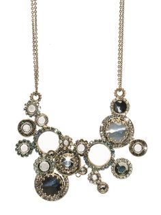 Multi Circle Bib Necklace in Crystal Rock by Sorrelli - $200.00 (http://www.sorrelli.com/products/NCE10ASCRO)