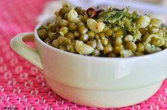 Dried peas pasta chundal recipe -Navrathri special