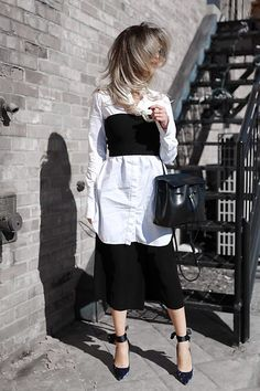 Get this look: http://lb.nu/look/8629751  More looks by Lina Dinh: http://lb.nu/lovebetweentheracks  Items in this look:  Aritzia Tube Top, Chloe Carlina, Mansur Gavriel Lady Bag   #chic #edgy #street