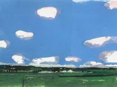 Dreaming of warmer days - July Blue by Harry Stooshinoff on Artfully Walls