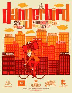 Dangerbird // design by kollective fusion