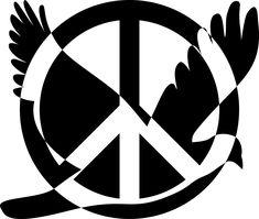 Peace Sign Symbol Animal Bird transparent image