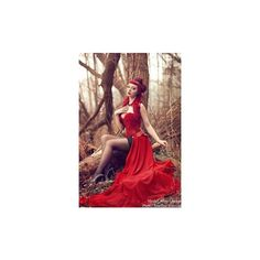 Items similar to Halloween Wedding Gown Gothic Sleeping Beauty Red and... ❤ liked on Polyvore featuring costumes, gothic halloween costumes, sleeping beauty, gothic lolita costume, princess aurora halloween costume and goth halloween costumes