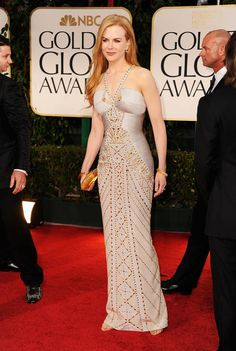 Nicole Kidman. Golden Globe 2012