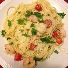 Shrimp Scampi with Linguini Allrecipes.com