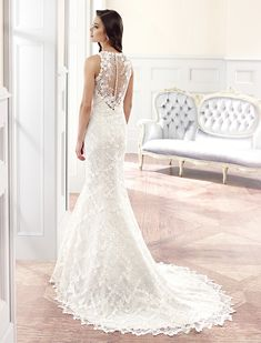 Editor's Pick: The Couture Collection of Eddy K Wedding Dresses with Italian Sophistication. To see more: http://www.modwedding.com/2014/09/25/the-couture-collection-of-eddy-k-wedding-dresses-with-italian-sophistication/ #wedding #weddings #wedding_dress