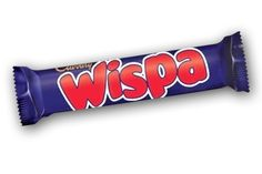 Cadbury Wispa Aerated Milk Chocolate Bar I like the idea of Aerated chocolates but love more traditional bars, still Cadbury's milk chocolate is so divine that anything they do is  wonderful, this almost had a caramel texture quality to it which was lovely.