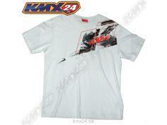 KTM Splatter Tee White T-Shirt