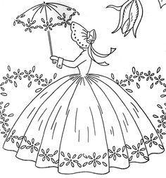 crinoline lady images | Wonder-Under and Crinoline Ladies