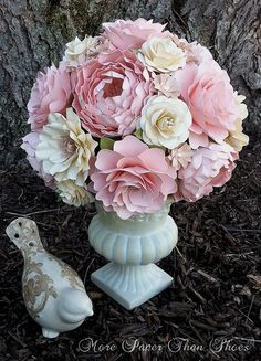 This listing for a single CUSTOM designed Bridal Bouquet, diameter measurements varying based on final design. For custom bridal package
