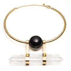 Alexis Bittar collar, $595, alexisbittar.com.-Wmag