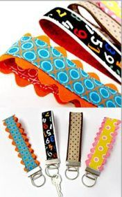 Sew4Home shares a fun – and practical – project for using your smaller fabric scraps. It's a key fob with a colorfulfabric strap that you can wear around your wrist. You could …
