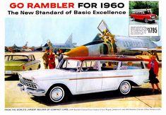 1960 Rambler Cross Country Station Wagon on the Tarmac