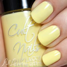 Cult Nails New Day swatch via @AllLacqueredUp