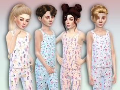 The Sims Resource: Gioco Set by Simlark • Sims 4 Downloads