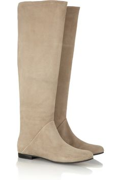 Giuseppe Zanotti Suede knee boots