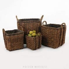 Square Rope Baskets - Accessories