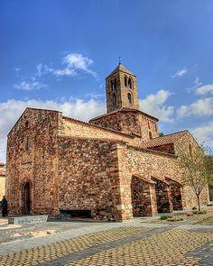 Barcelona Església de Santa Maria (Terrassa)  Catalunya