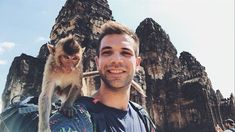 One of the best experience in my life! Have you ever spent a day with monkeys ? Temple Ruins, Have You Ever, Adventurer, Backpacker, Thailand Travel, Monkeys, My Life, Asia, Good Things