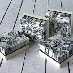 charcoal soap, by lyubavasoap