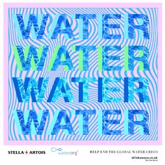 COLLABORATION: WORLD WATER DAY On World Water Day we've partnered with Stella Artois and water.org to raise awareness of the global water crisis and the fact that millions of women in the developing world spend up to 6 hours a day just collecting it. Read more >