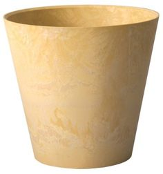 Novelty 08084 Round Napa Planter, Maize, 8-Inch by Novelty. $15.05. Napa planters retain the same weathered facade as their forerunners, mesa and bali. Available in maize color. Measures 8-inch diameter. Round napa planter. Internal water feature and durable resin composite with a taller more streamlined trendier shape. This round shape napa planter retain the same weathered facade as their forerunners, mesa and bali. A simplified, sleek design utilizes the same feature...