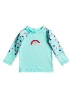 7019c3038caf Roxy BabyGirls Sweet Tooth Long Sleeve Rash Vest