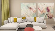 Amenajare interioara apartament 3 camere Unirii - iDecorate Couch, Furniture, Home Decor, Homemade Home Decor, Sofa, Couches, Home Furnishings, Sofas, Sofa Beds