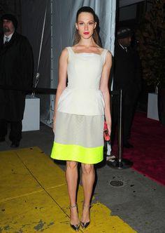 Elettra Wiedemann at the CFDA/Vogue Fashion Fund Awards in New York.
