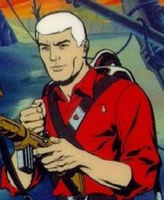 Race Bannon from Johnny Quest - one of my first crushes