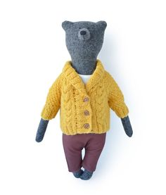 Paul the bear, by Philomena Kloss Buy online