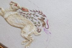 Chloe Giordano coser miniaturas 2