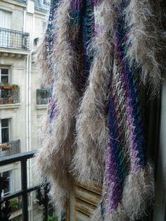 Handmade crochet sweatervestjacketopenshort by lamamadesmatous, $150.00
