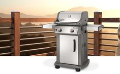 Our old grill is ready to retire. This Spirit® S-210™ would be a nice replacement.