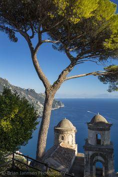 Villa Rufolo, Ravello, Italy. © Brian Jannsen Photography