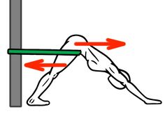 Joint Distraction - Ankle and Hip Mobility - Down Dog for Hip Flexion and Ankle Dorsiflexion