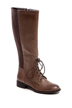 Fashion Focus Lace-It-Up Combat Boot by Fashion Focus on @nordstrom_rack