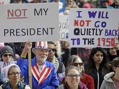 Not My Presidents Day rallies bring thousands to the streets