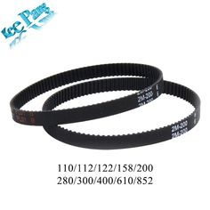Closed Loop Timing Belt Rubber Printers Parts 110 112 122 158 200 280 300 400 610 852 mm Synchronous Belts Part Cool Electronics, Electronics Projects, Cheap 3d Printer, 3d Printer Parts, Timing Belt, Cool Things To Buy, Accessories, Cad Cam, January 2018