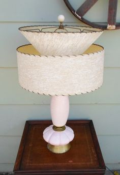 Vintage Mid Century Modern Pink and White by alsredesignvintage, $155.00