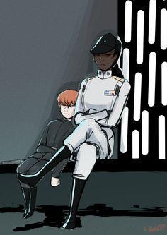Grand Admiral Rae Sloane and Hux