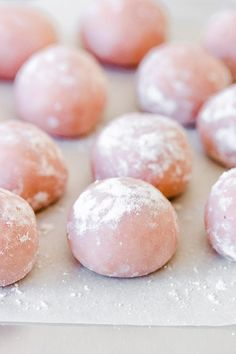 These fudgy pink white chocolate strawberry truffles are super flavorful and tasty and their festive color makes them ideal for the holiday season. Chocolate Chip Cookies, White Chocolate Truffles, White Chocolate Strawberries, Hot Chocolate, Healthy Chocolate, Chocolate Desserts, Chocolate Covered, Strawberry Truffle, Strawberry Puree