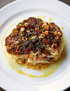 The Falcon's Hearty Country Cooking Makes For Perfect Homemade Comfort Food Try This Roasted Cauliflower From The Herefordshire Restaurant As An Impressive Vegetarian Entertaining Dish Lentil Recipes, Veggie Recipes, Beef Recipes, Vegetarian Recipes, Healthy Recipes, Roasted Cauliflower, Cauliflower Recipes, Cauliflower Salad, Country Cooking